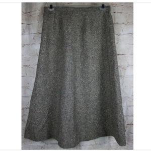 Vintage PendletonTweed Skirt